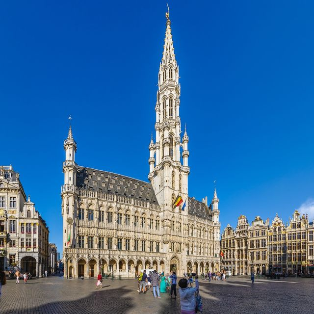 Guided tour of the City Hall of Brussels, innerrooms