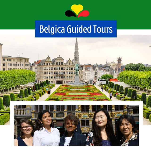 Guided tours in French, Dutch, Portuguese, Italian, Spanish, Russian and Korean