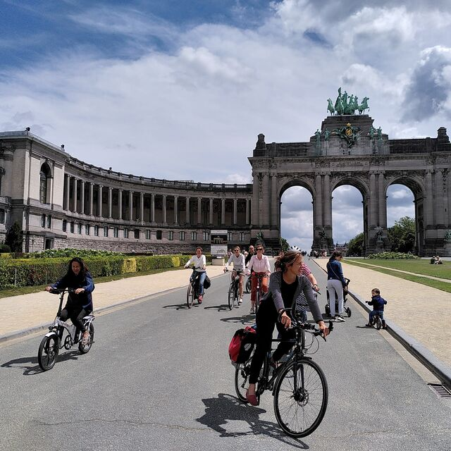Weekend Tour, discover Brussels by bike :: © cactus