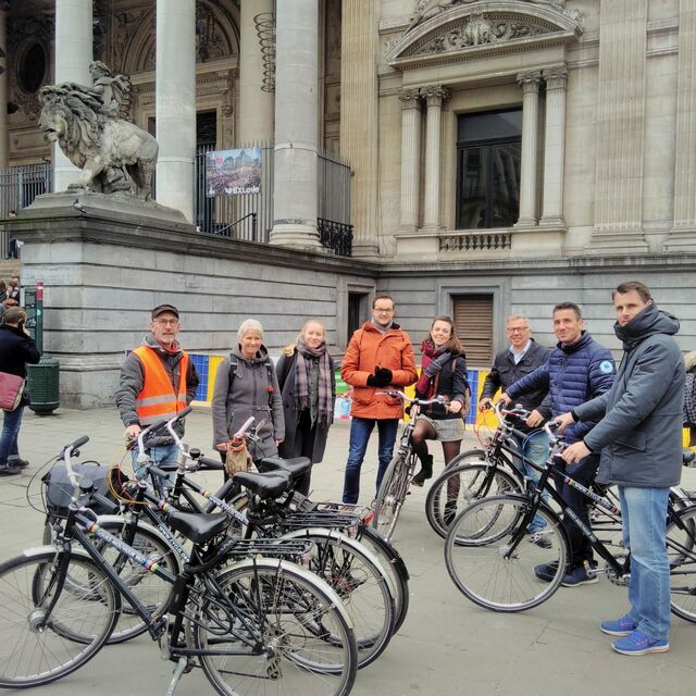 Weekend Tour, discover Brussels by bike :: © cactus brussel à vélo