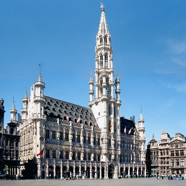 Innerrooms of the Town Hall of Brussels