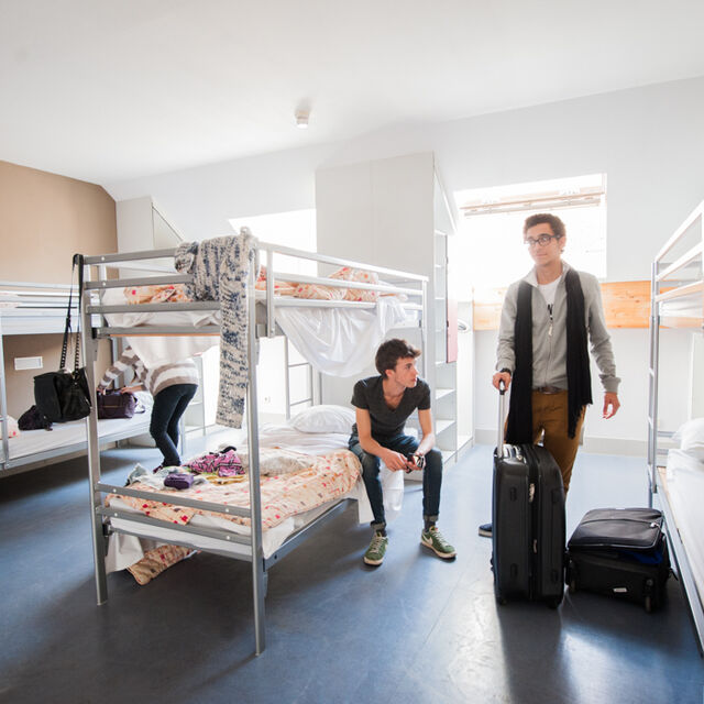 Stay in a youth hostel on your next school trip to Brussels