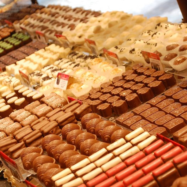 Chocolate, one of Brussel's most precious jewels