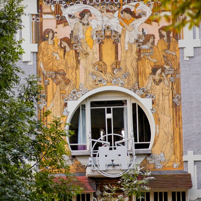 Masterpieces Art nouveau - Guided tours