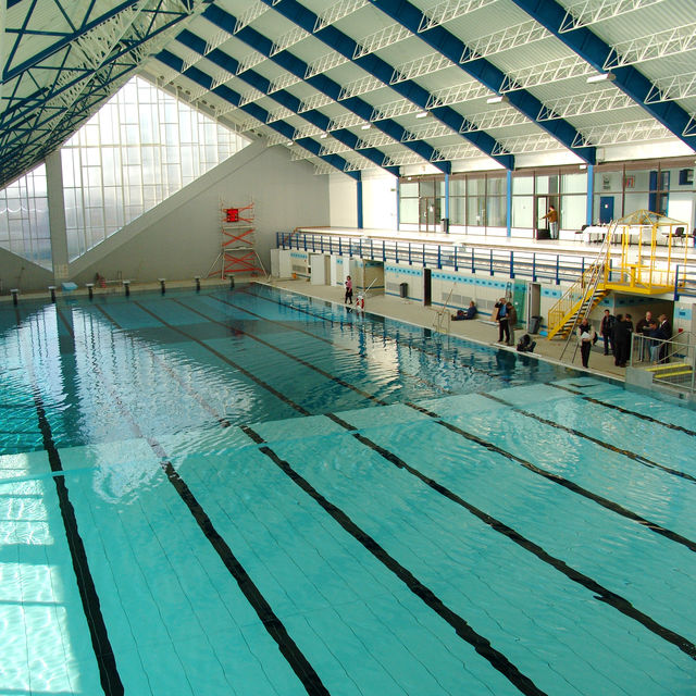 Sportcity swimming pool woluw saint pierre visit brussels for Piscine uccle