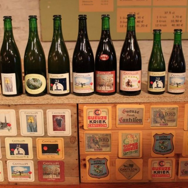 Brussels museum Geuze Brewery Cantillon