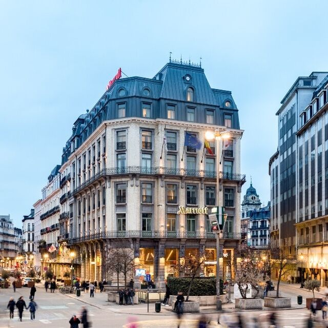 Brussels Marriott Hotel Grand Place :: © ©Brussels Marriott Hotel Grand Place