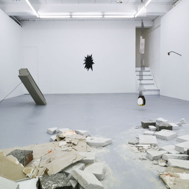 Harlan Levey Projects :: © Marcin Dudek - Saved by an Unseen Crack - installation view