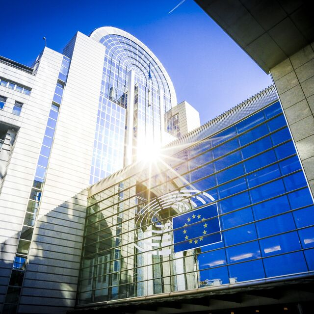 Europees Parlement: grote vergaderzaal