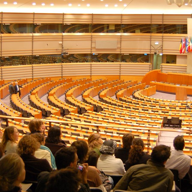 The European Parliament: hemicycle