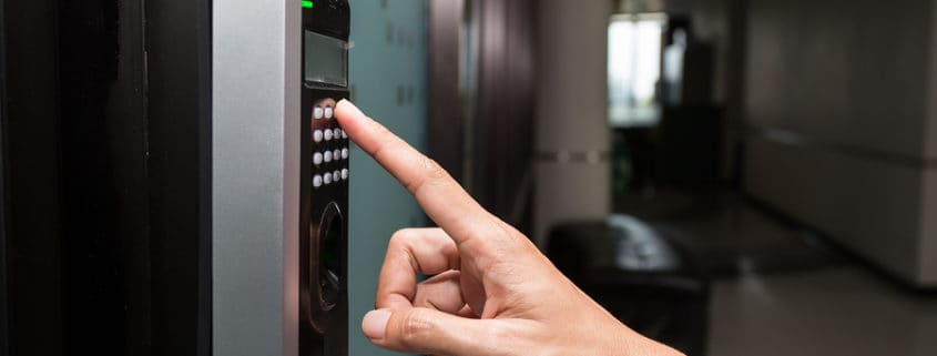 Biometric office access controls