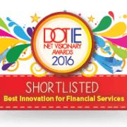 IIA Net Awards 2016 - Shortlisted badges- Best Innovation for Financial Services