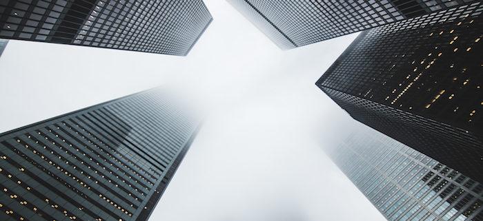 gap between buildings