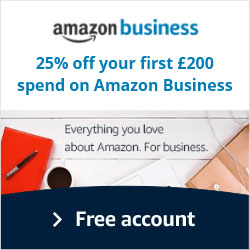 Get 25% off when you sign up for Amazon Business