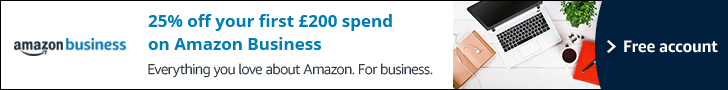 25% off your first £200 spend on Amazon Business