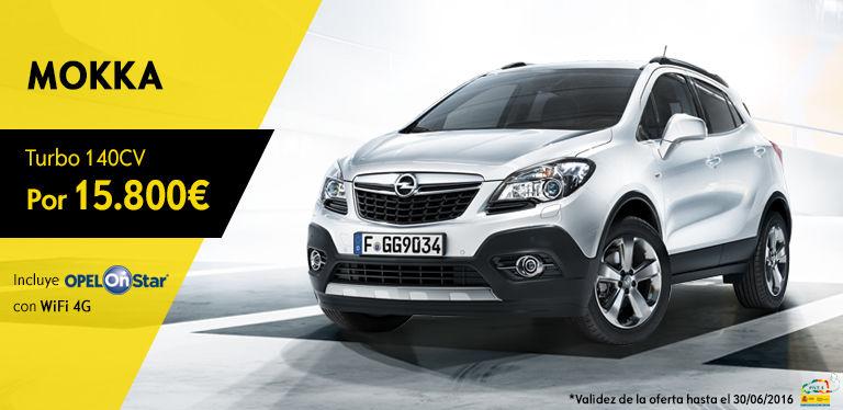 Oferta Opel Mokka - Mayo 2016
