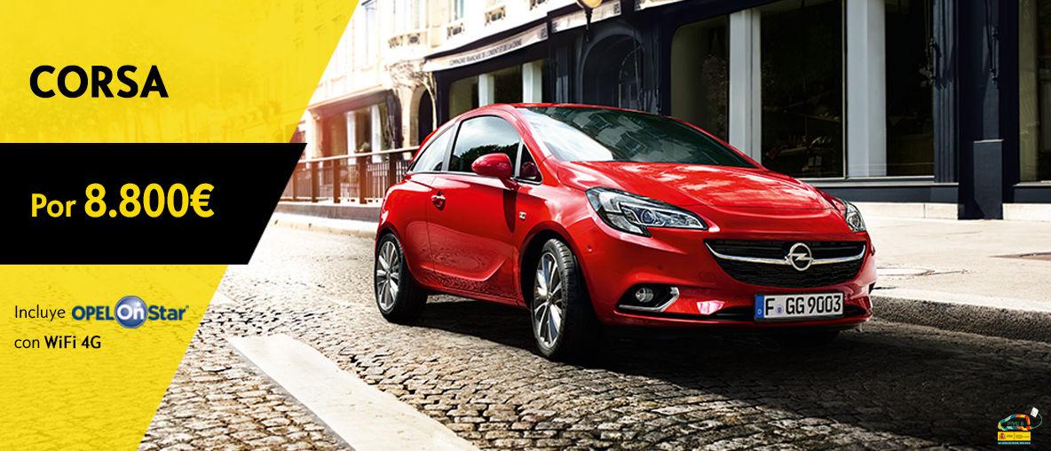 Oferta Service Opel Corsa 8800€ OnStar - Abril 2016