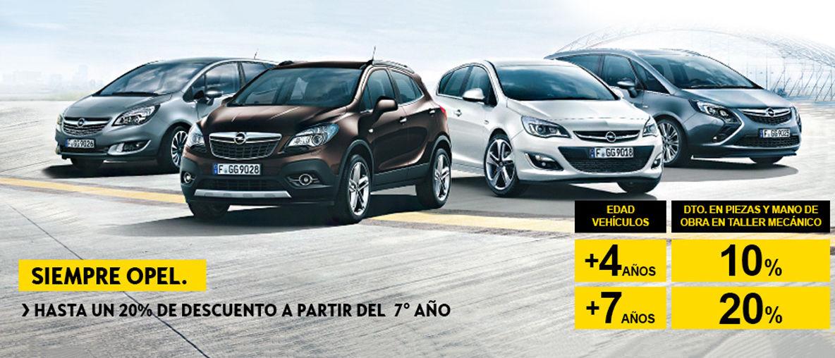 Opel Posventa Descuentos