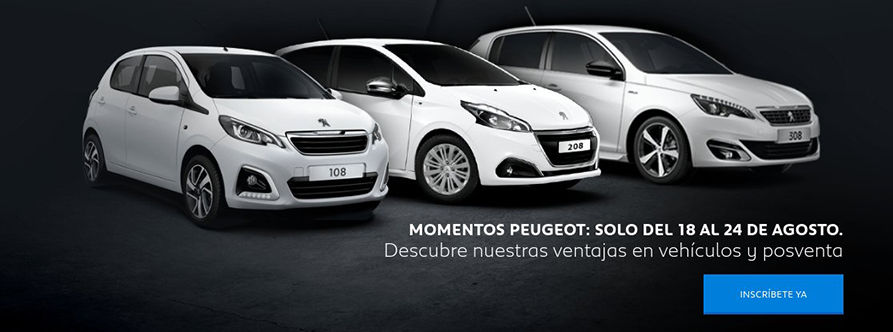 MOMENTOS PEUGEOT EN TU TALLER