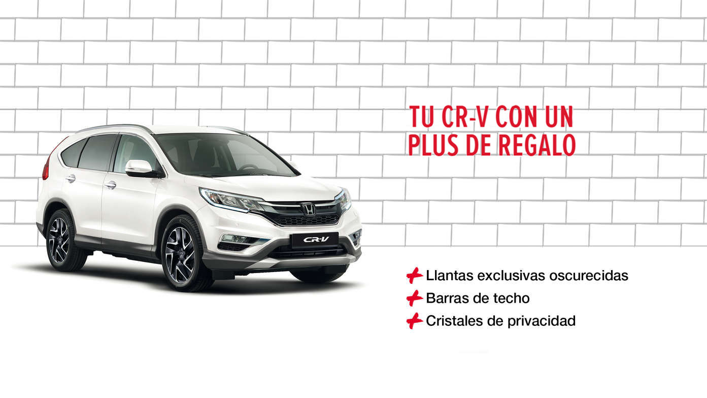TU CR-V CON UN PLUS DE REGALO
