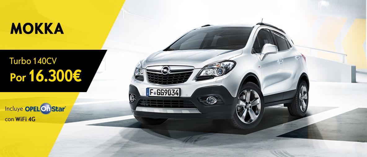 Oferta Opel Mokka - Septiembre 2016