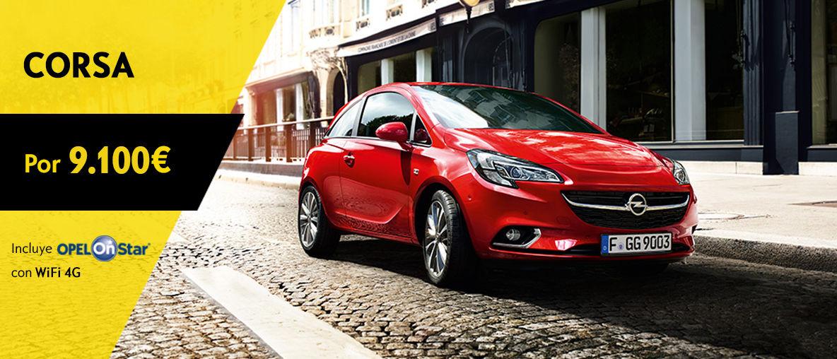 Oferta Service Opel Corsa 9.100€ OnStar - Septiembre 2016