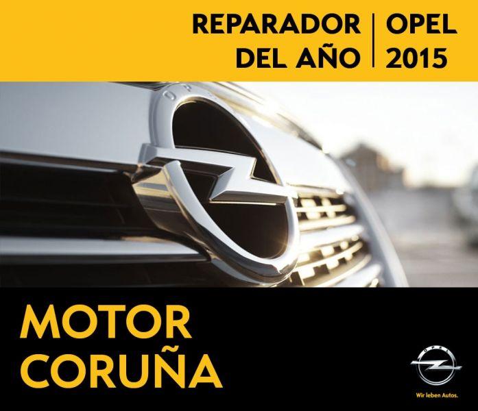 MOTOR CORUÑA REPARADOR DEL AÑO 2015