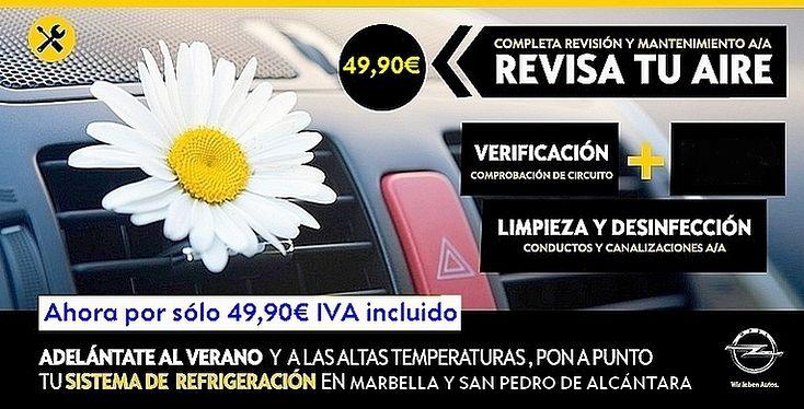 Revisa tu Aire Acondicionado por sólo 49,90€ con IVA