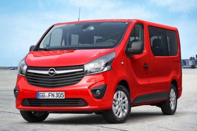 Presentación mundial del nuevo Opel Vivaro Combi en el Salón del Vehículo Comercial Hanover