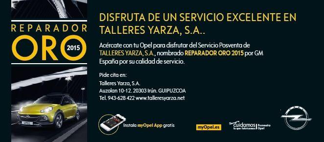 Talleres Yarza nombrado Reparador Oro 2015