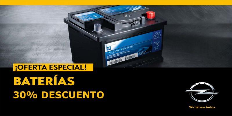 Oferta en Baterias Descuento del 30%