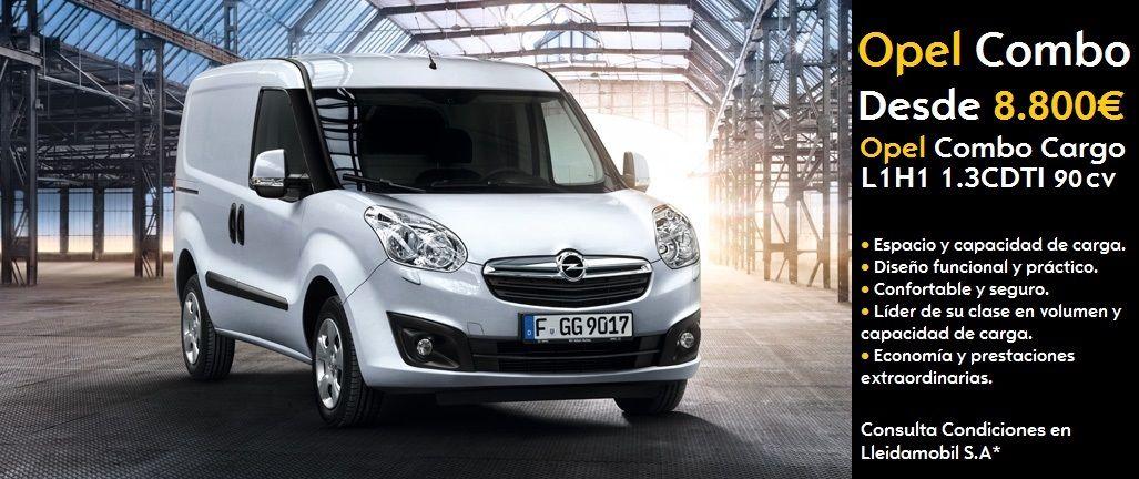 Nueva Opel Combo desde solo 8.800€ *