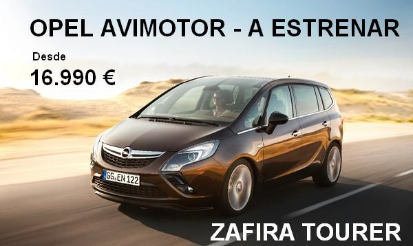Rebajas en Avimotor - Zafira Tourer