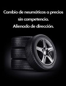Cambio de neumáticos a precios sin competencia