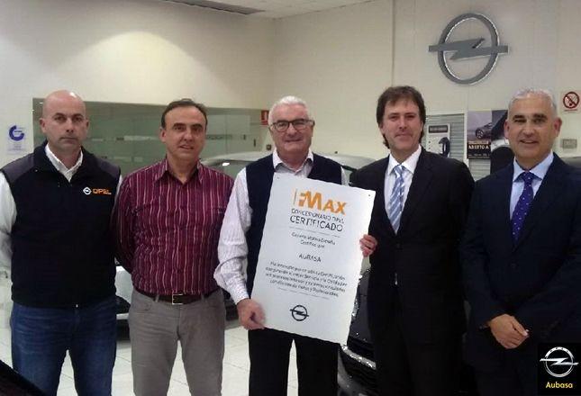 Aubasa recibe la certificación F-Max