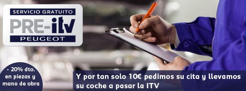 OCALU PEUGEOT SEVILLA: SERVICIOS ITV