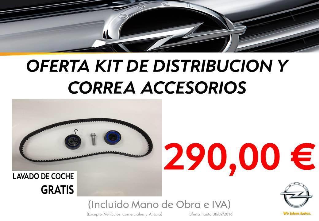 Oferta kit de distribución y correa accesorios