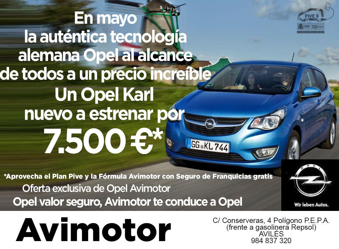Oferta Opel Karl Avimotor