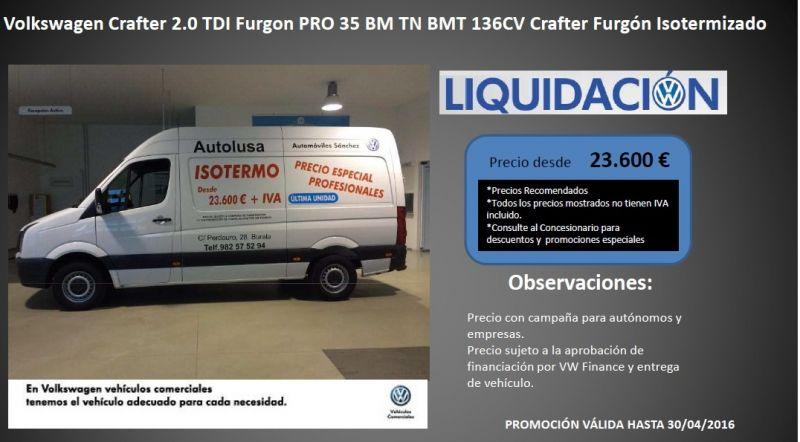 ¡ ÚLTIMA UNIDAD ! Precio Especial en Vehiculos Comerciales VOLKSWAGEN