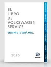 Libro de volkswagen service 2016