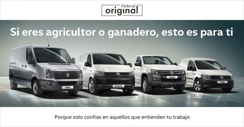 Volkswagen Vehiculos Comerciales con los Agricultores y Ganaderos de Andalucía