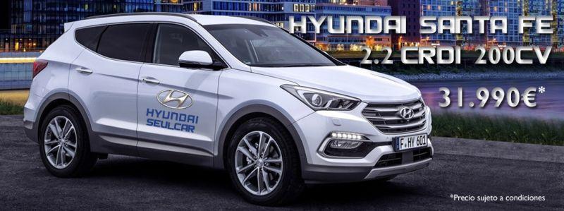 Hyundai Santa Fe CRDI 2.2 por 31.990€