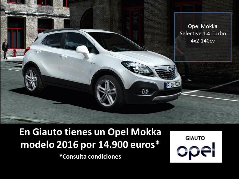 Promoción Opel Mokka en GIAUTO