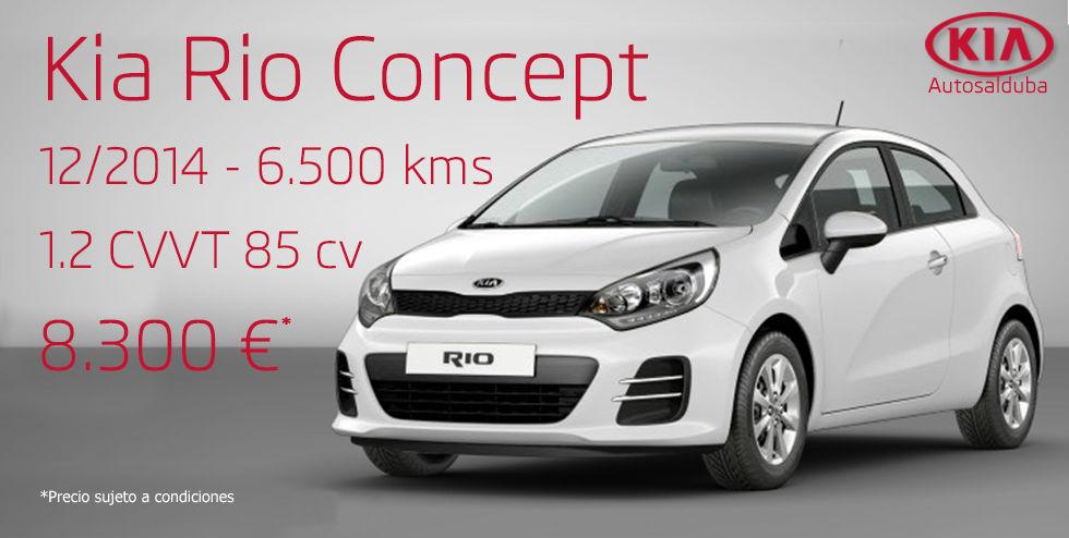 Oferta: Kia Rio 1.2 CVVT 85 Cv Concept