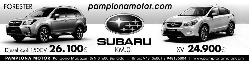 SUBARU KM 0 EN PAMPLONA MOTOR!