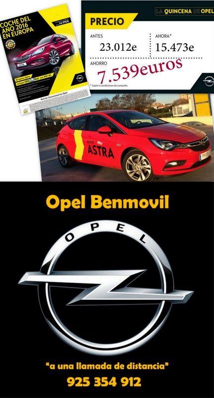 15 días Opel = 90.000€ de subvención para la compra de tu coche hasta el 5 de Septiembre