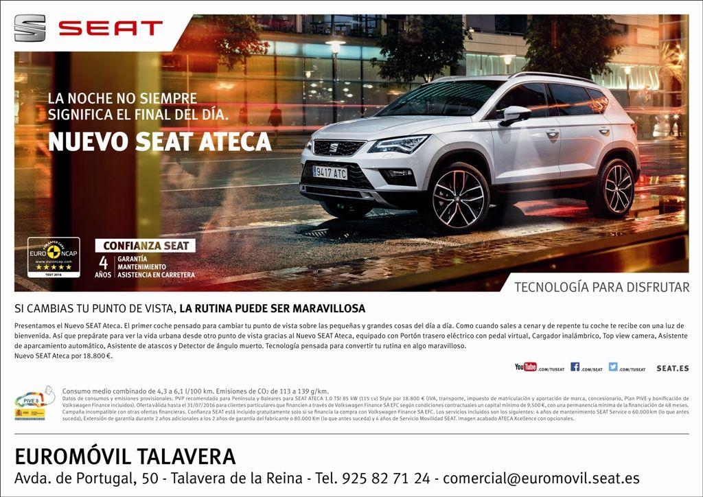 Oferta SEAT ATECA hasta 31/07/2016