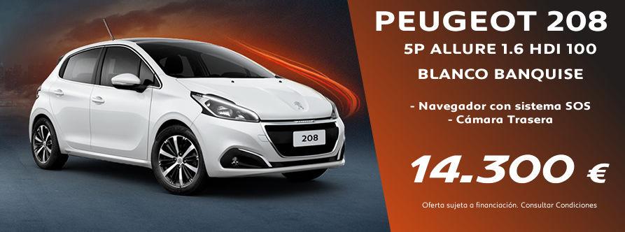 Oportunidad en Peugeot 208