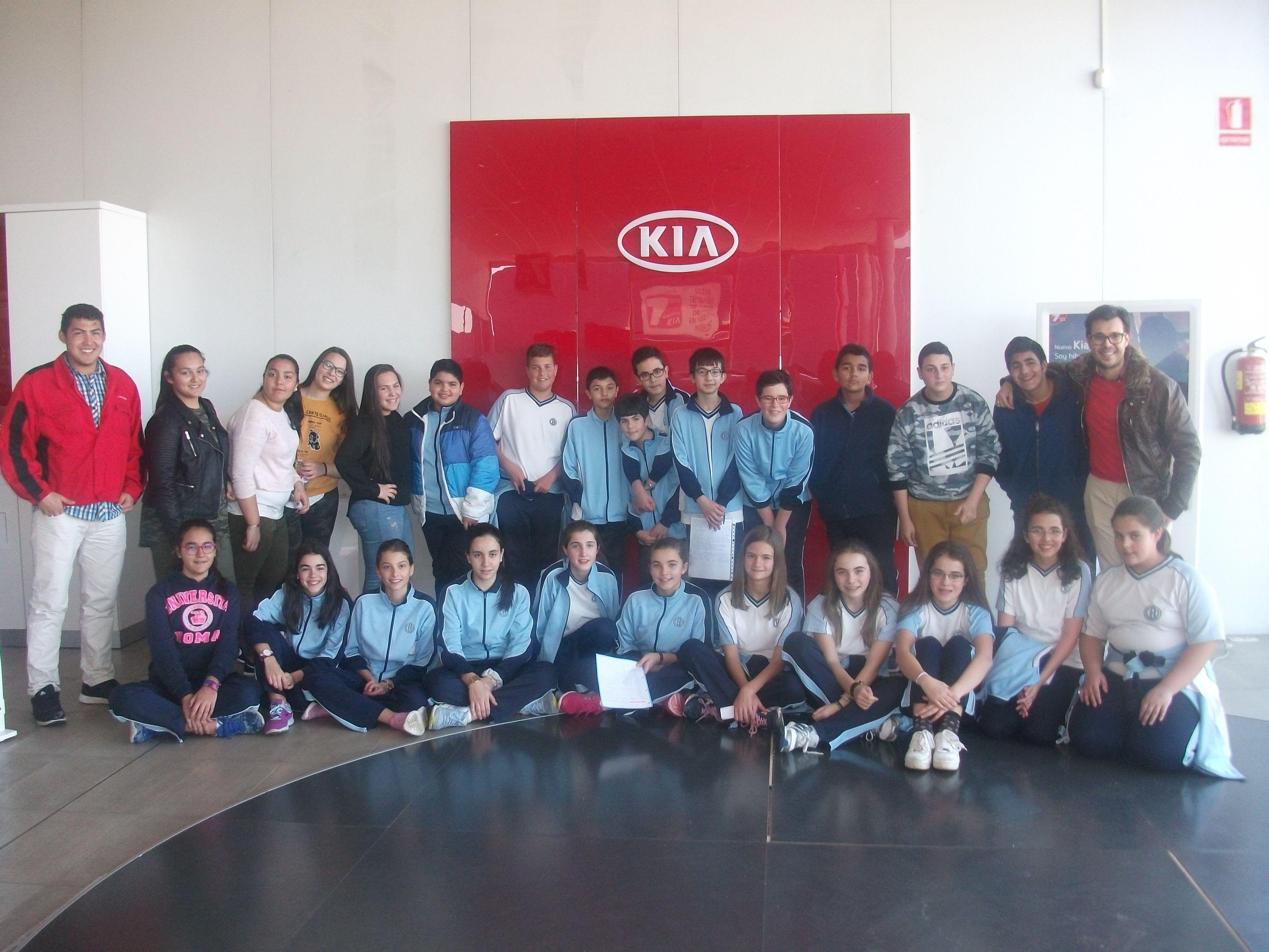 Alumnos de 1º de la E.S.O de SAN VICENTE DE PAUL