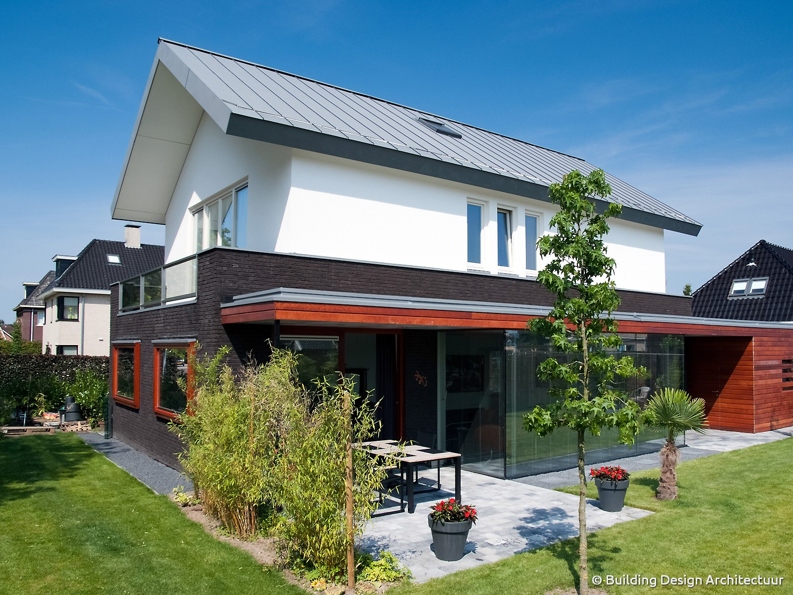 Building design architectuur - Huis in de moderne ...